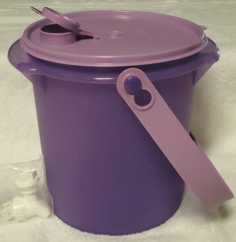 Tupperware Drink Canister with Jumbo Handle and Spout: 5 Liters Purple by Tupperware. $39.99