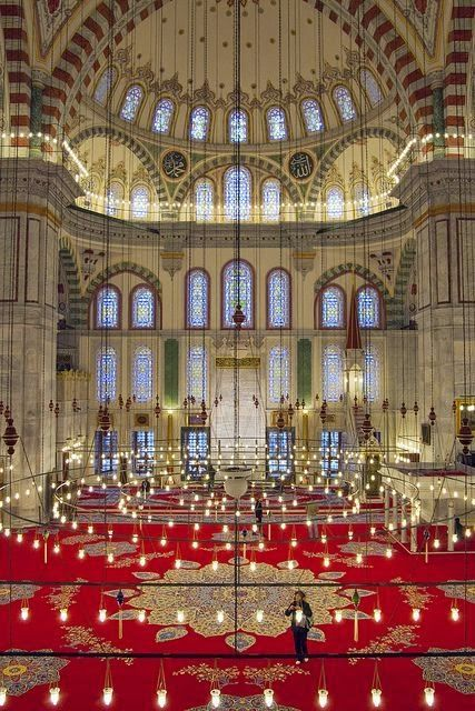Fatih Mosque, Istanbul, Turkey