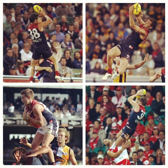 Jeremy Howe. Best mark in the AFL at the moment.