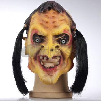 Masquerade Mask Skull Silicone braids witch