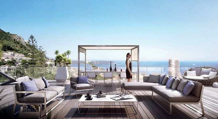 Monte Carlo View Luxury apartments with stunning views overlooking the Bay of Monaco  Located in a select area, adjacent to Monaco, The Monte-Carlo View is the perfect opportunity for a real estate investment in this most desirable vantage point of the Riviera.  The fabulous apartments feature luxury appointments and vast terraces dominating the Principality.  The property is highly secured and enhanced with a swimming pool.  Luxury appartments: from studios to penthouse