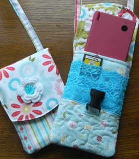 Nintendo DSi Purse for Little Girl (or Runaround Purse for Big Girl) - The Quilted Fish