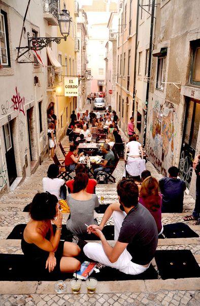 Bairro Alto, Lisbon, Portugal
