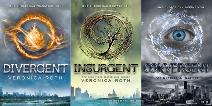 Divergent Series Set in a dystopian society with five factions, a brave female protagonist must make a life-altering choice between her family and her true self.