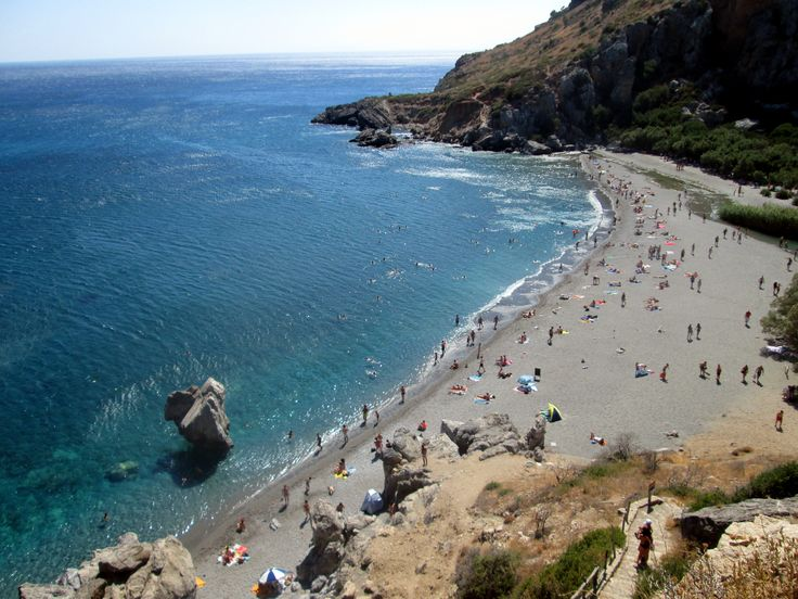 Preveli beach, South of Crete