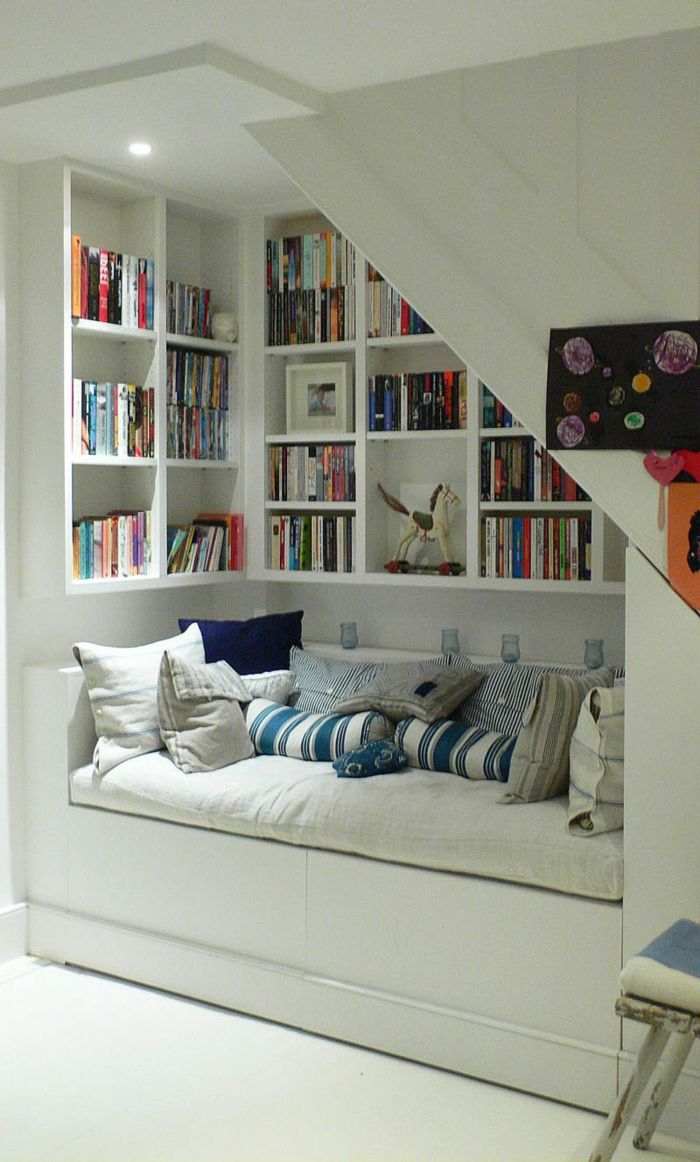 Les meubles sous pente - solutions créatives
