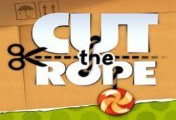 Usa el dedo como si fuese una tijeras para cortar las cuerdas de Cut the Rope y alimentar a Om Nom. Este juego lo puedes jugar en tu celular, Tablet o PC para que no te pierdas ninguno de sus juegos. ¿Te atreves a superar todos los niveles de Cut the Rope?.