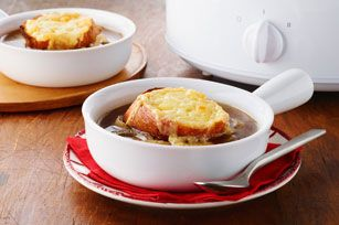 Slow-Cooker French Onion Soup Recipe