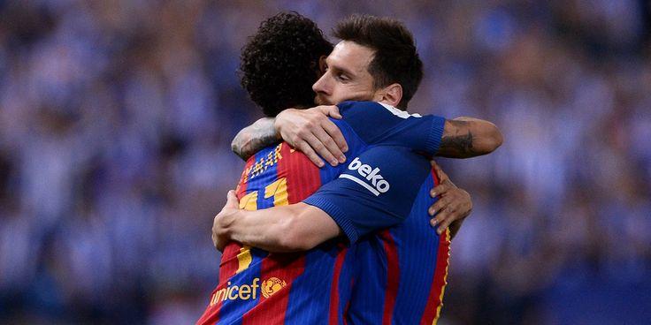 """SPORT - A travers une vidéo publiée sur Instagram, Neymar remercie les fans du FC Barcelone et ses anciens coéquipiers, se disant maintenant prêt à """"relever le défi du PSG""""."""