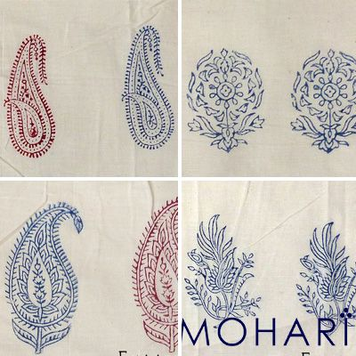 Traditional motifs of hand block printing designs. #traditionalmotifs #motifs #blockprinting #handblock #blockprint #indianblockprint