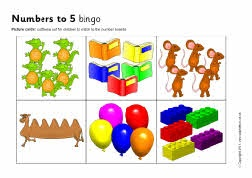 Numbers to 5 counting bingo (SB3875) - SparkleBox