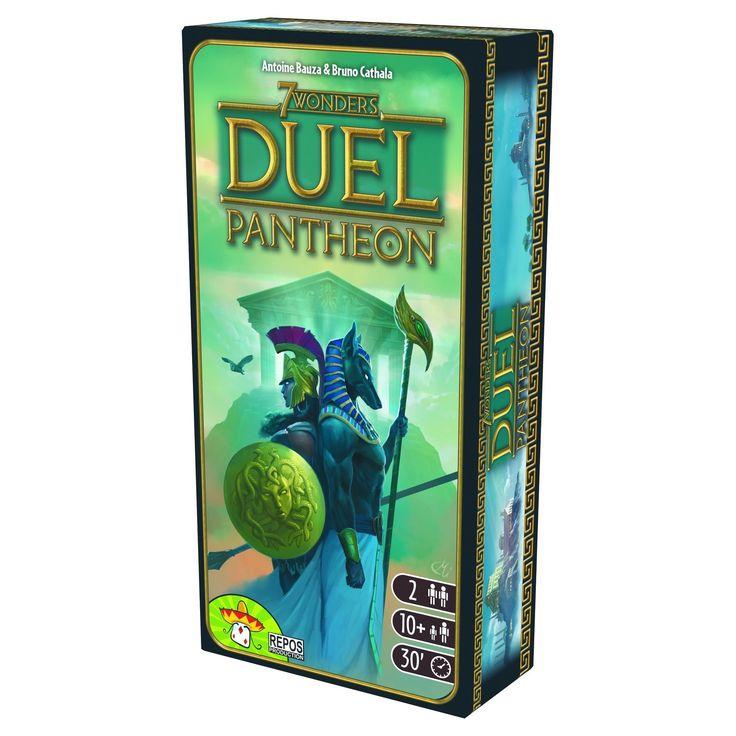 7 Wonders Duel Pantheon Expansion Board Game