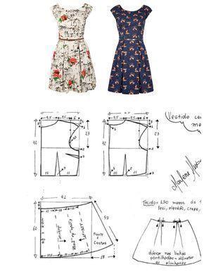 Best 12 Cómo hacer vestidos cortos desde cero DIY – 30 patrones gratis – El Có…