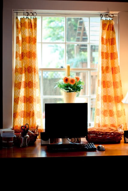 A Different Way To Hang Curtains Homey Home Pinterest