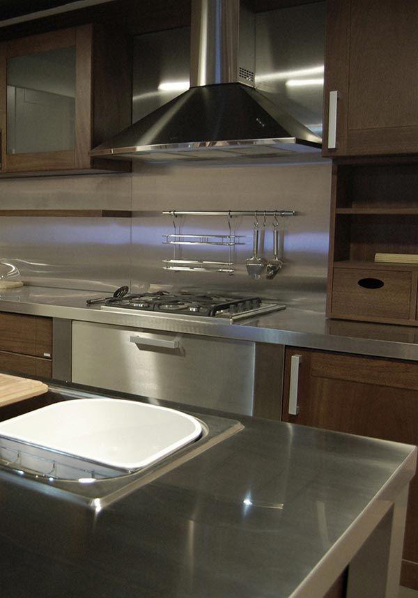 Steel Cocinas Johnson Serie Premium - Diseño 5 Johnson Acero