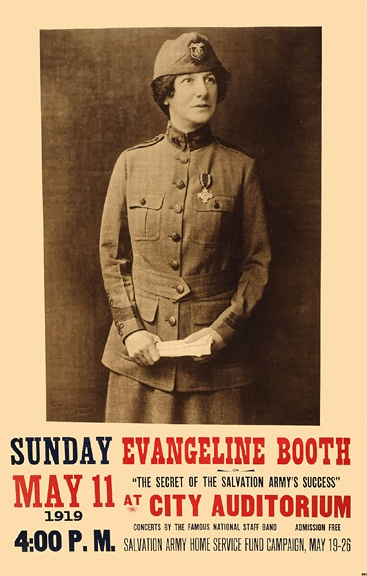 91 best christian evangilists teachers history preaching teaching salvation army poster 1919 by frank defreitas daughter of william and catherine booth fandeluxe Images