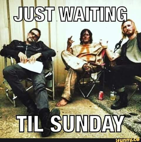 Negan, Daryl & Dwight 'Just Waiting Til Sunday'! TWD