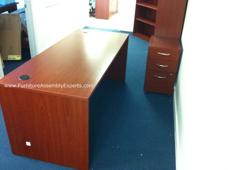 Bush Office Desk Assembled In Temple Hills Md By Furniture Assembly Experts Llc Call 202 787