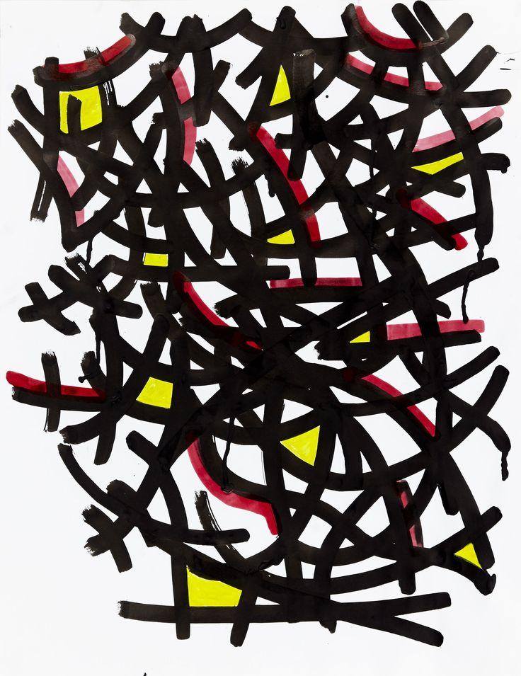 Série Semaine #2 - Dimanche - 2015 Acrylique & encre de chine Format raisin #art #underground #urbanartist #urbanart #paris #graffiti #ownyourart #groundeffect #sendamessage #soon #arturbain #artist #canvas
