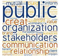 Great inforgraphic from The New York Times - the words used most often to define public relations.
