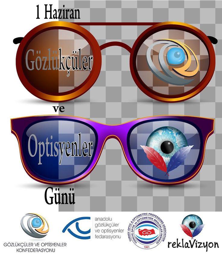 1 Haziran Gözlükçüler ve Optisyenler Günü www.reklavizyon.com Reklavizyon Reklam Ajansı #reklavizyon #matbaa #ışıklıtabela #promosyon #dijitalbaskı #kurumsalkimlik #branda #işkıyafetleri #strafor #3D #3DÇizim #3Dprinting #web #pleksi