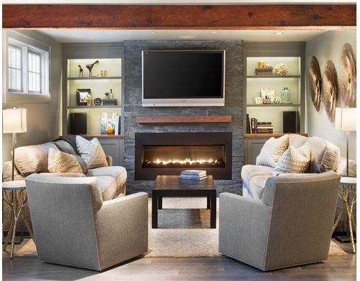Best 25 Built in electric fireplace ideas on Pinterest