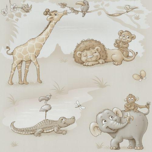Papel-pintado-animales-Africa-crema-beige-kindertapete-P-s-Dieter-4-Kid-z-05494-20