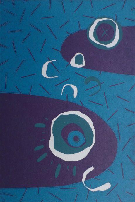 Woodcut Fish Tales by Julian Davies on DesArts