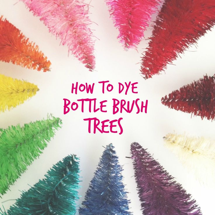 Bottle Brush Trees are so much fun. I love the vibrant, untraditional colours. The only problem is that the fun, bright colours are hard to come by. After seeing a few tutorials online my friend and I decided to try making our own. Below is the techniques we used and what we liked best. This tutorial is very easy but very messy. Make sure to wear gloves or be okay with having black hands afterwards. Supply List: – Lemax Bottle Brush Trees (they usually come in packs of 21 in 4 different…