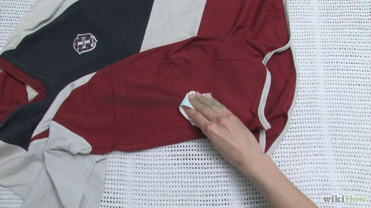 how to get wax oil stain out of clothes