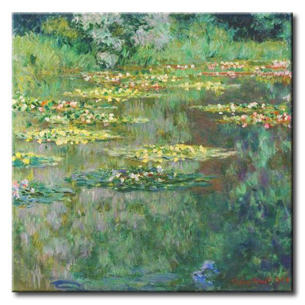 MU_MN2017 _ t_Monet _ le Bassin des Nympheas / Cuadro Famoso, El Estanque de los Nenufares