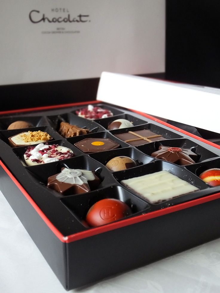 Who doesn't love Chocolate for Christmas? I really love Hotel Chocolat Classic chocs - so pretty!
