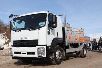 В Украине дебютируют грузовики Isuzu F-cерии