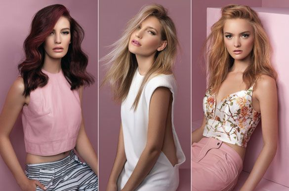 De Lorenzo Spring // Summer 2014 Collection.  Get the look at La Unica Salon