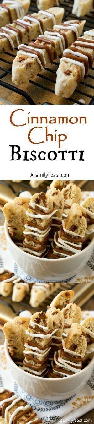 Cinnamon Chip Biscotti