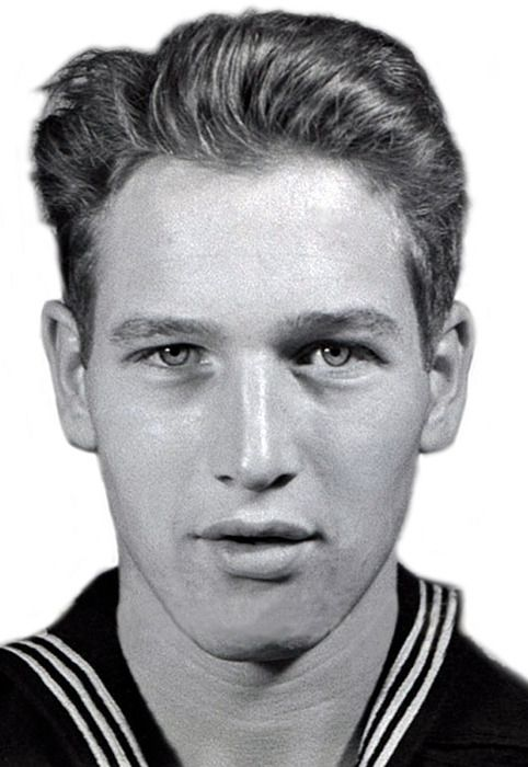 Paul Newman in the Navy, c.1943: Paul Newman, Young Paul, Paulnewman, Masks, United States Navy, Doce Paul, The Navy, People, Photo