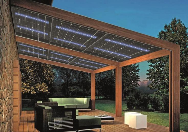 Solar Pergola Light Home Remodel Pinterest Solar