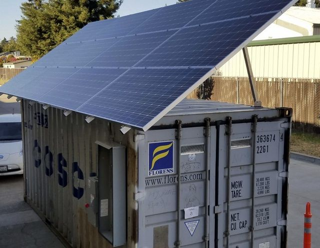 Check Out This Solar Storage Microgrid Housed In A Shipping Container Solar Builder In 2020 Solar Panels Solar Solar Heating