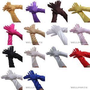 Long-Satin-Stretch-Gloves-for-Evening-Party-Wedding-Bridal-Formal-Prom-14-Colors