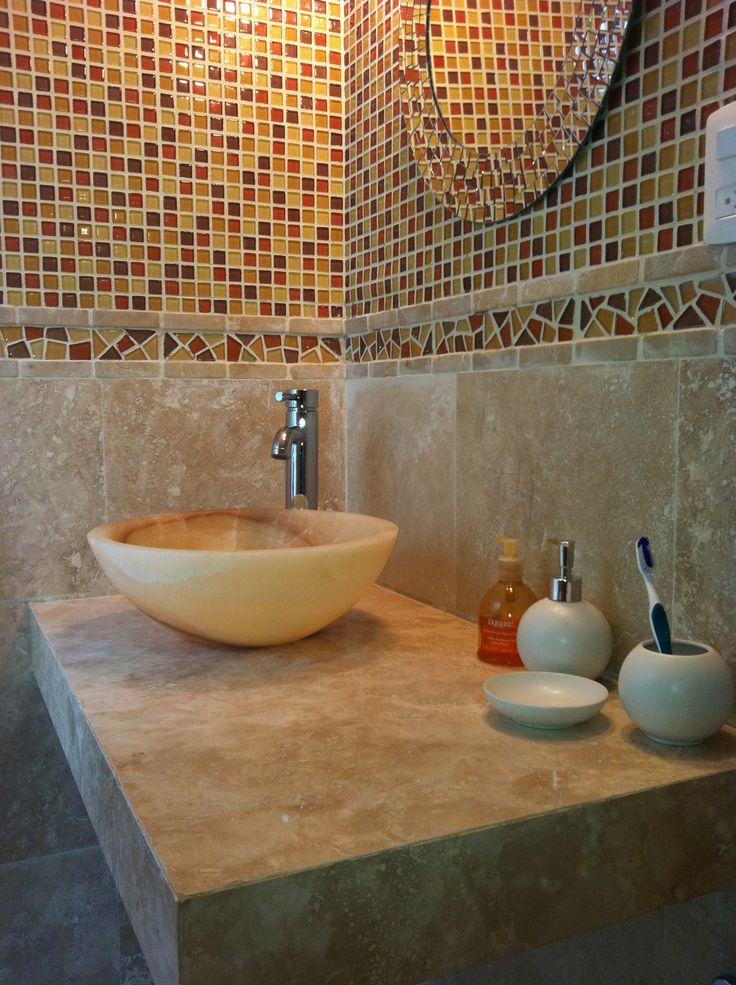 Fabricamos tu cubierta de ba o a la medida whatsapp for Placas de marmol medidas