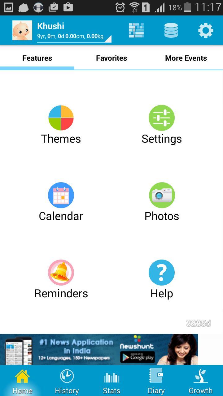 Specific Purpose Personal Diary App for Android Smartphone
