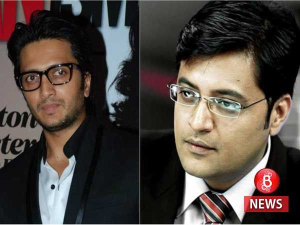 Riteish Deshmukh has the perfect reply to Pak journalist who mistook him for Arnab Goswami