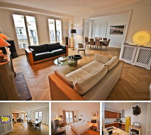 Rue Picot   Paris   3 Bedroom Duplex Apartment   Rental