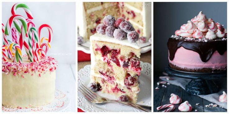 18 of the Most Divine Christmas Cakes   - CountryLiving.com