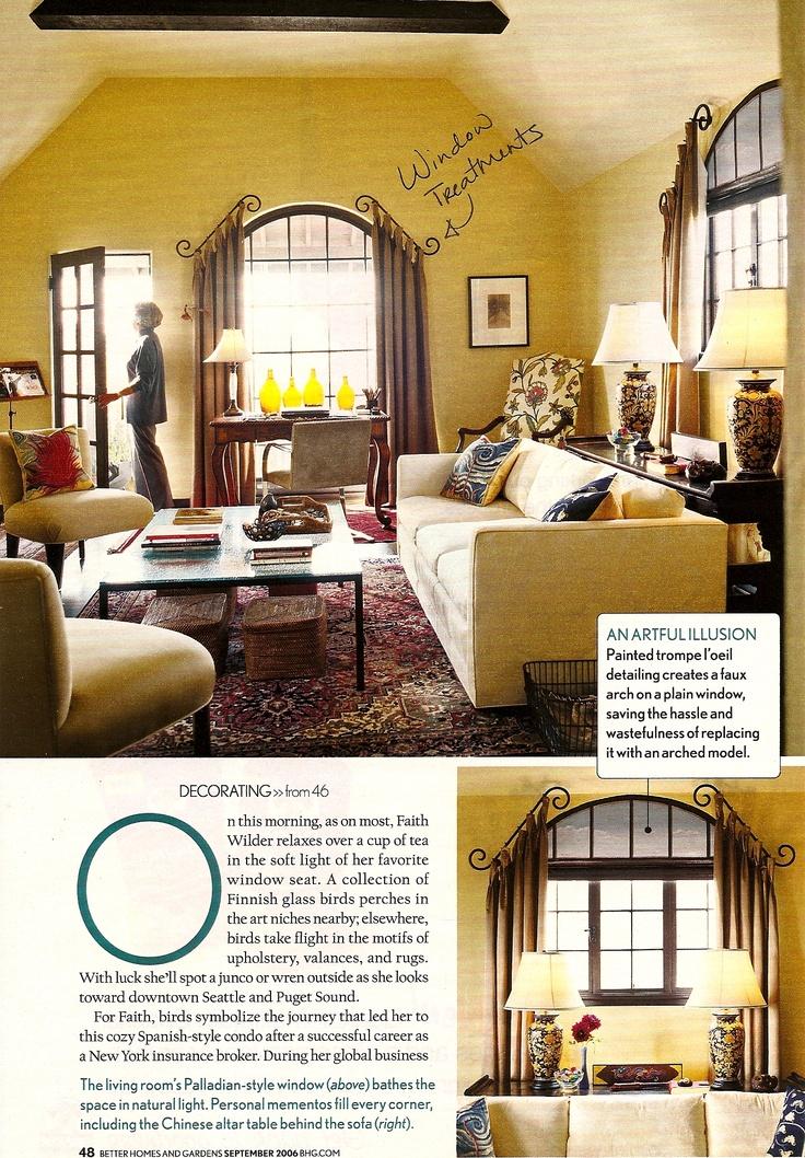 Creative Kitchen Window Treatments Hgtv Pictures Ideas: 17 Best Images About Triangular Windows On Pinterest