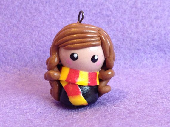 Chibi Hermione Granger from Harry Potter by CuteChibisandMore, £7.50