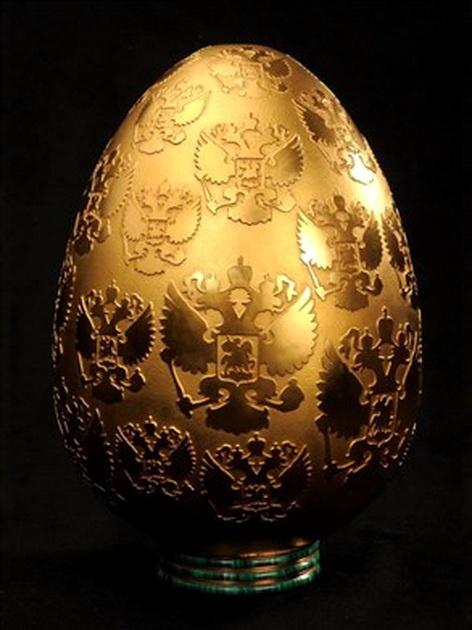العثور على بيضة من ذهب سرقت قبل 4 أعوام