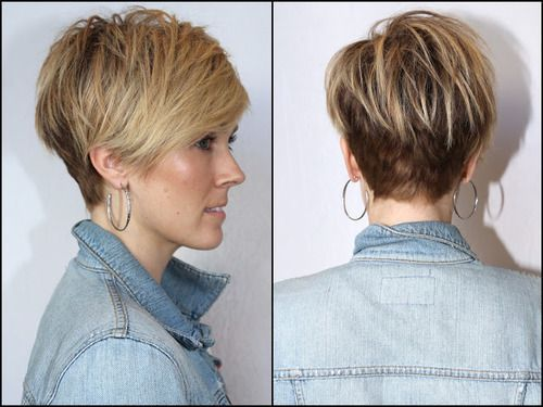 goshorter:  (via Mister AnhCoTran)  Nice Conservative crop somewhere between the pixie and a short A Bob.