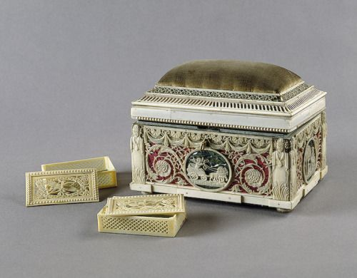 Sewing Casket Russia, late 18th century The Hermitage Museum