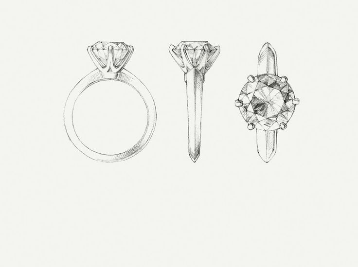 The Tiffany® Setting 18K Yellow Gold Engagement Rings | Tiffany & Co.